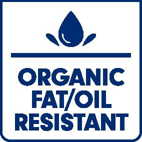 Organic fat/oil resistant