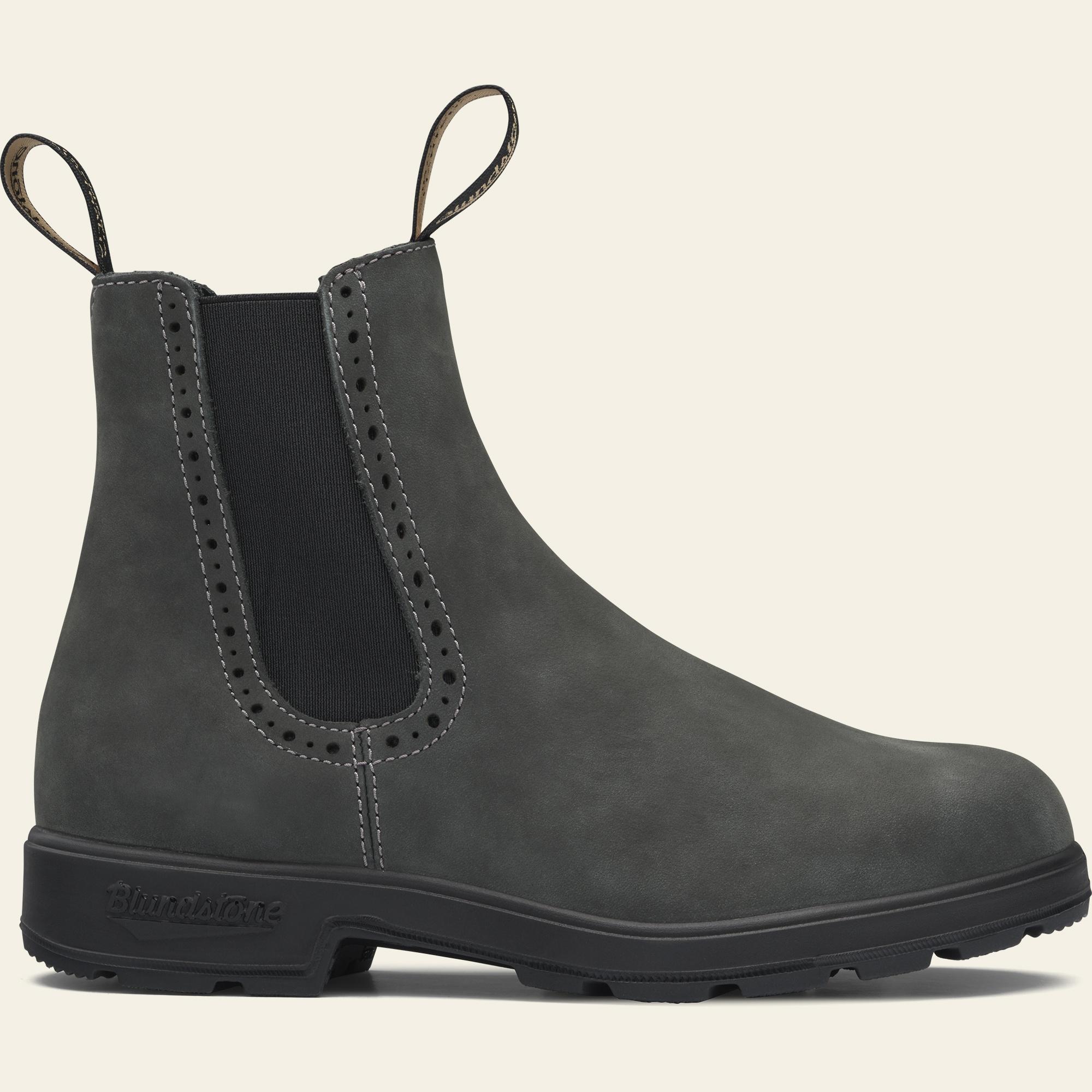 Rustic Black Premium Leather High Top