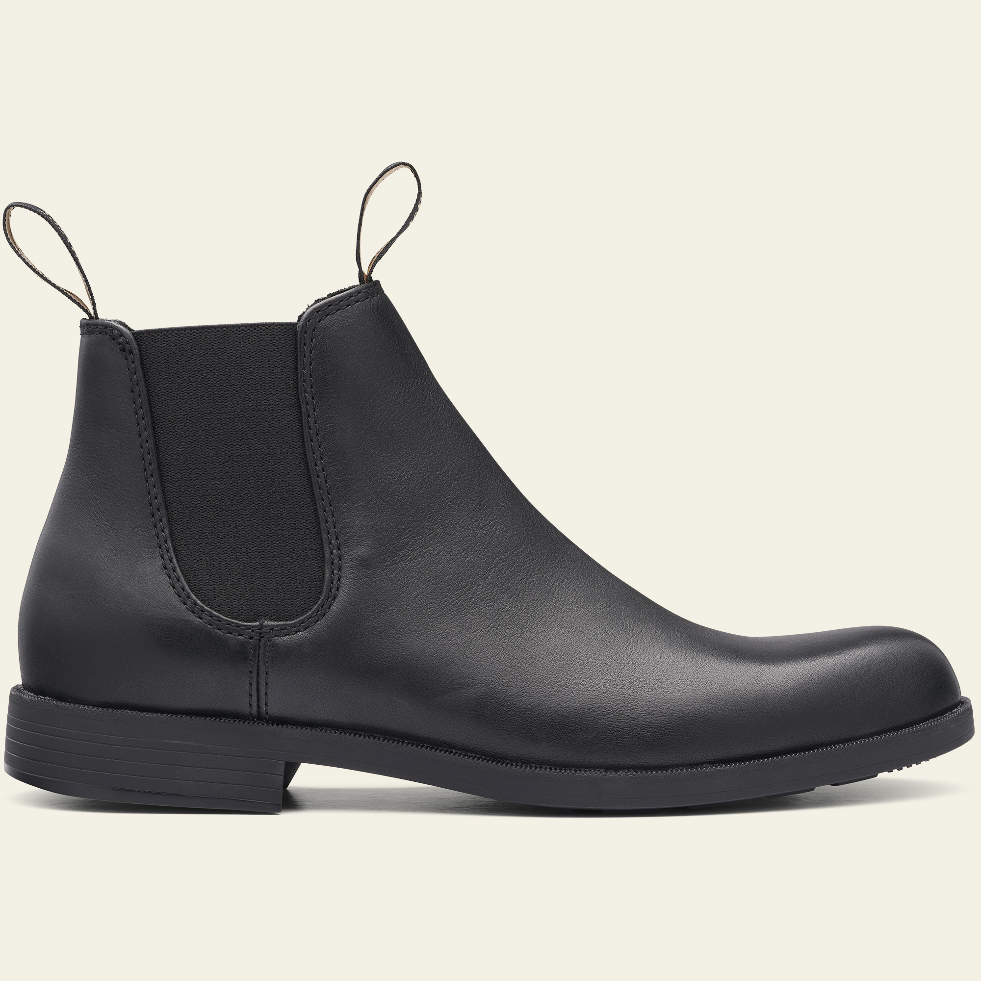 Black Leather Ankle Boots, Men's Style