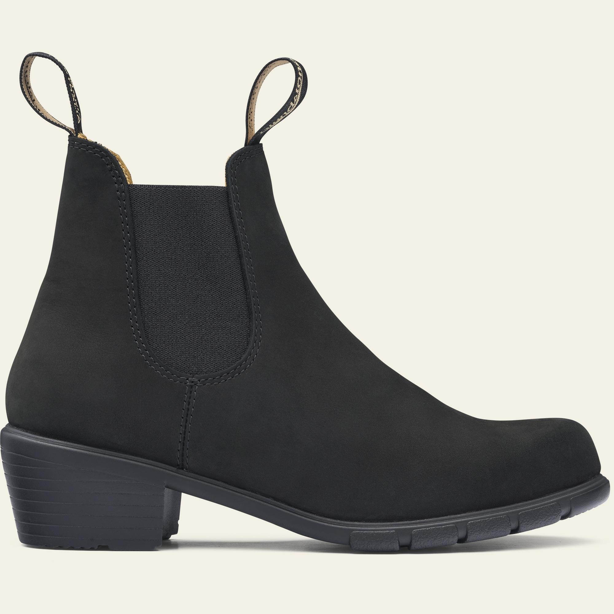 black boots women heel