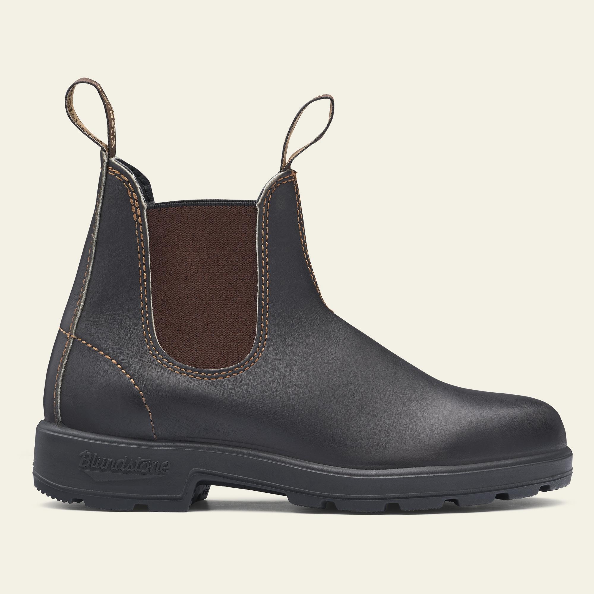 Stout Brown Premium Leather Chelsea