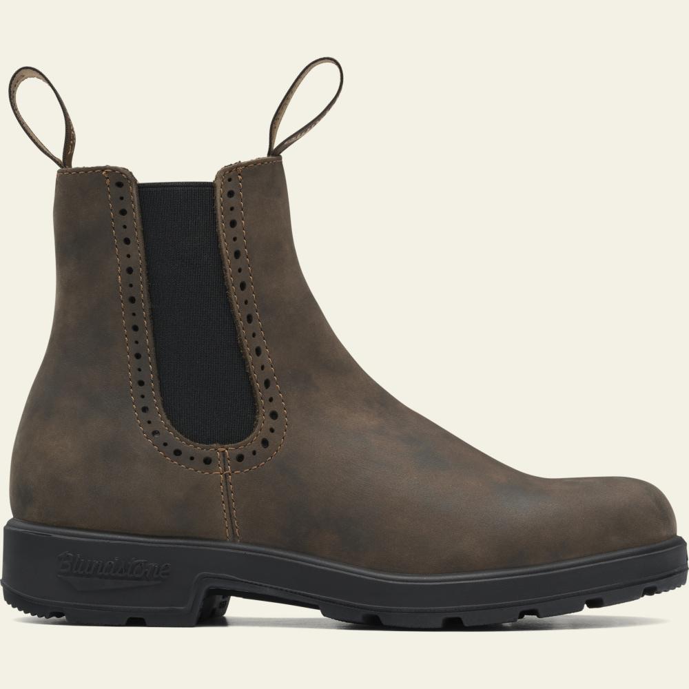 Rustic Brown Premium Leather High Top