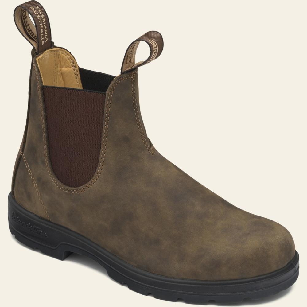 Rustic Brown Premium Leather Chelsea