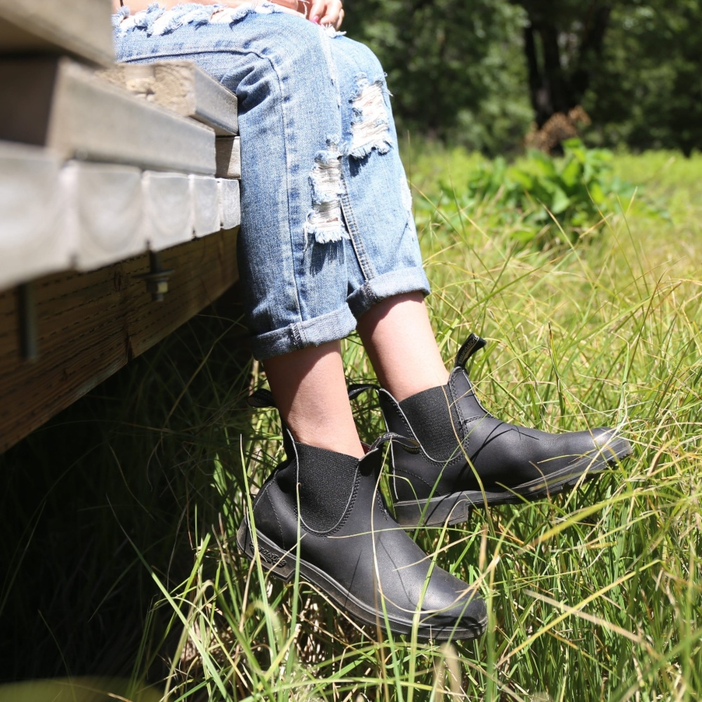 NEW Blundstone Style 510 Black Premium Leather Boots for Women