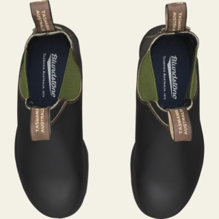 Youth Style 519 pu-tpu-olive-elastic-sided-v-cut_519_Y by Blundstone