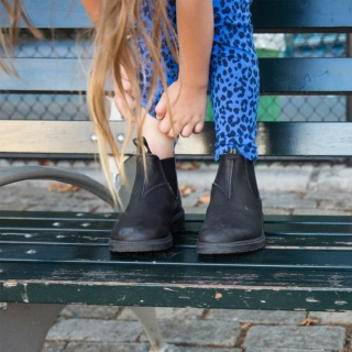 Kids' Style 531 kids-leather-lined-leather_531_F by Blundstone