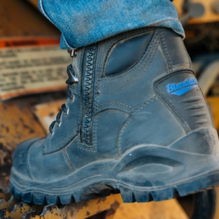 Work Style 997 pur-safety-150mm-ankle-zip-l-u_997_F by Blundstone