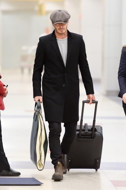 Beckham in Blundstones
