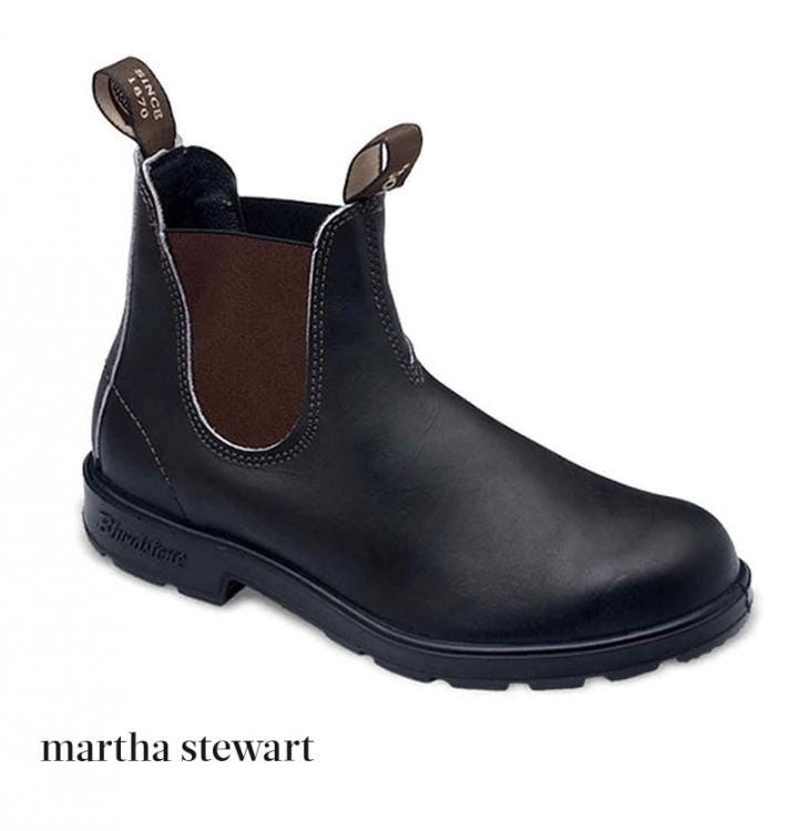 Martha Stewart Living Feature Blundstone Boots in Best Garden Essentials