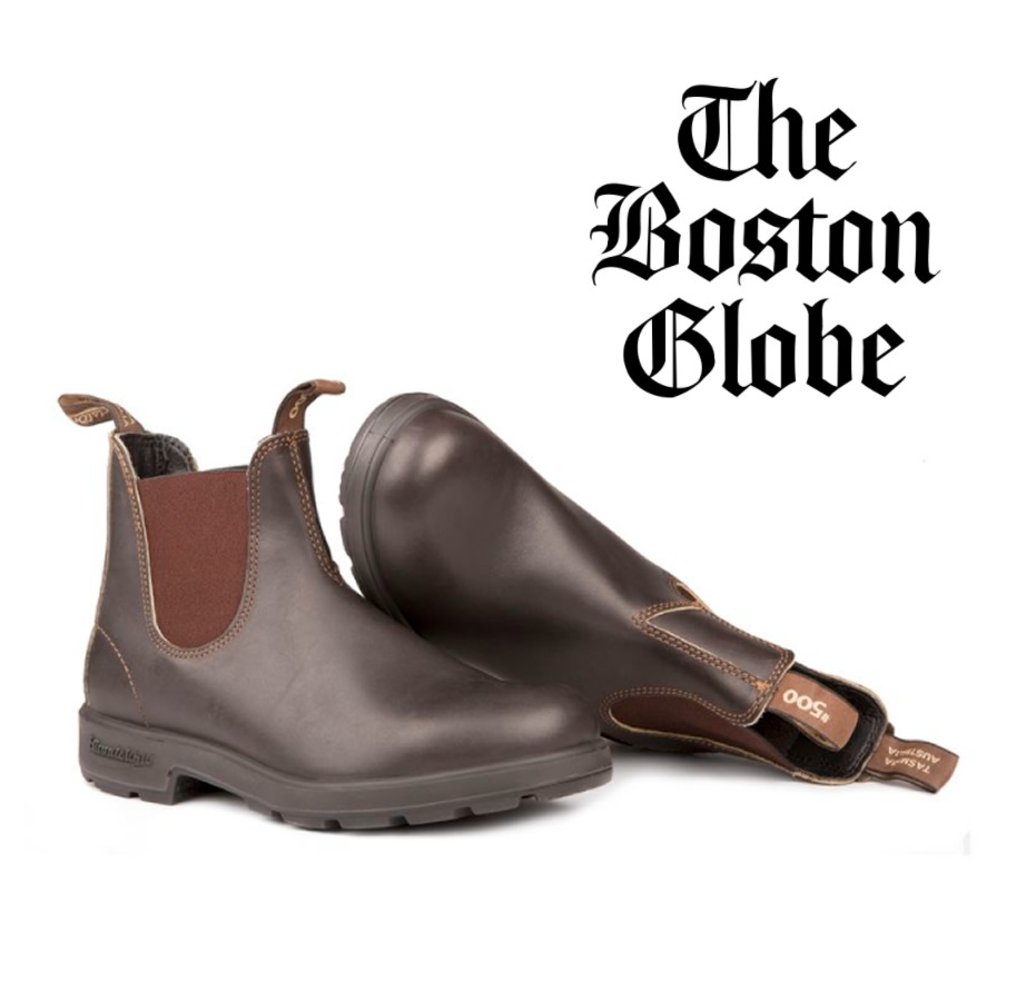 Boston Globe Talks About The Forever Footwear Gift