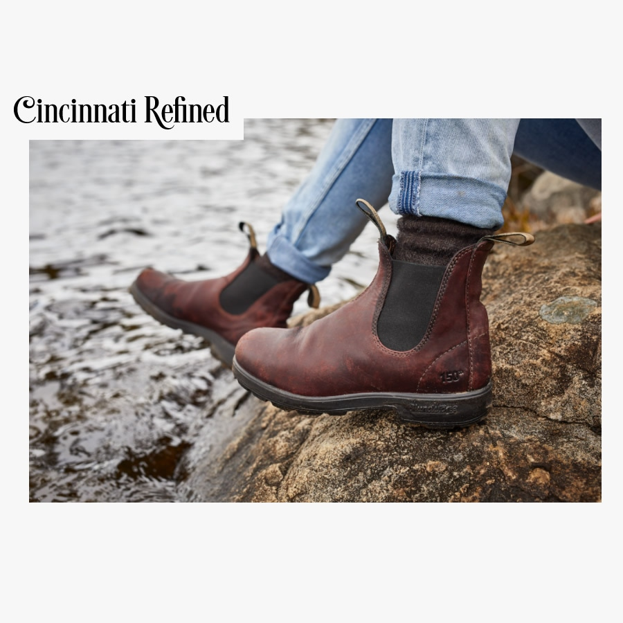 Chelsea Boots in Cincinnati Refined