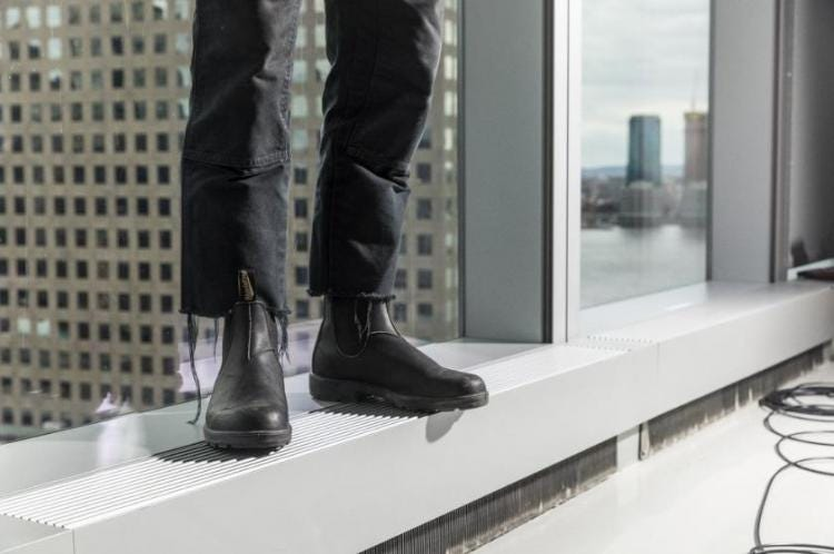 GQ's Flyest Shoes in NYC, Blundstone's Chelsea Boots for Men